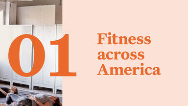 Section 1: fitness across america report page
