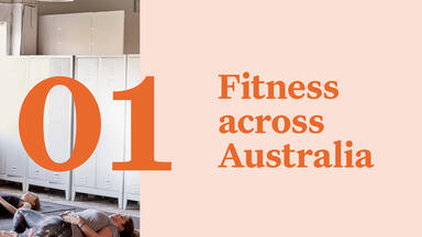 Fitness across Australia report page