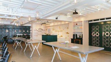 Fox and Jane's flagship salon