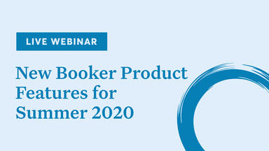 New Booker product features for Summer 2020