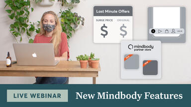 New Mindbody Features