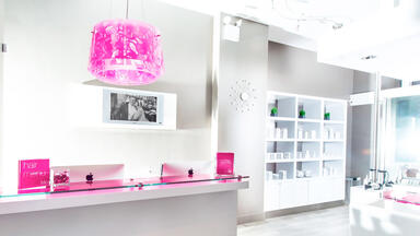 The front desk of Blo Blow Dry Bar