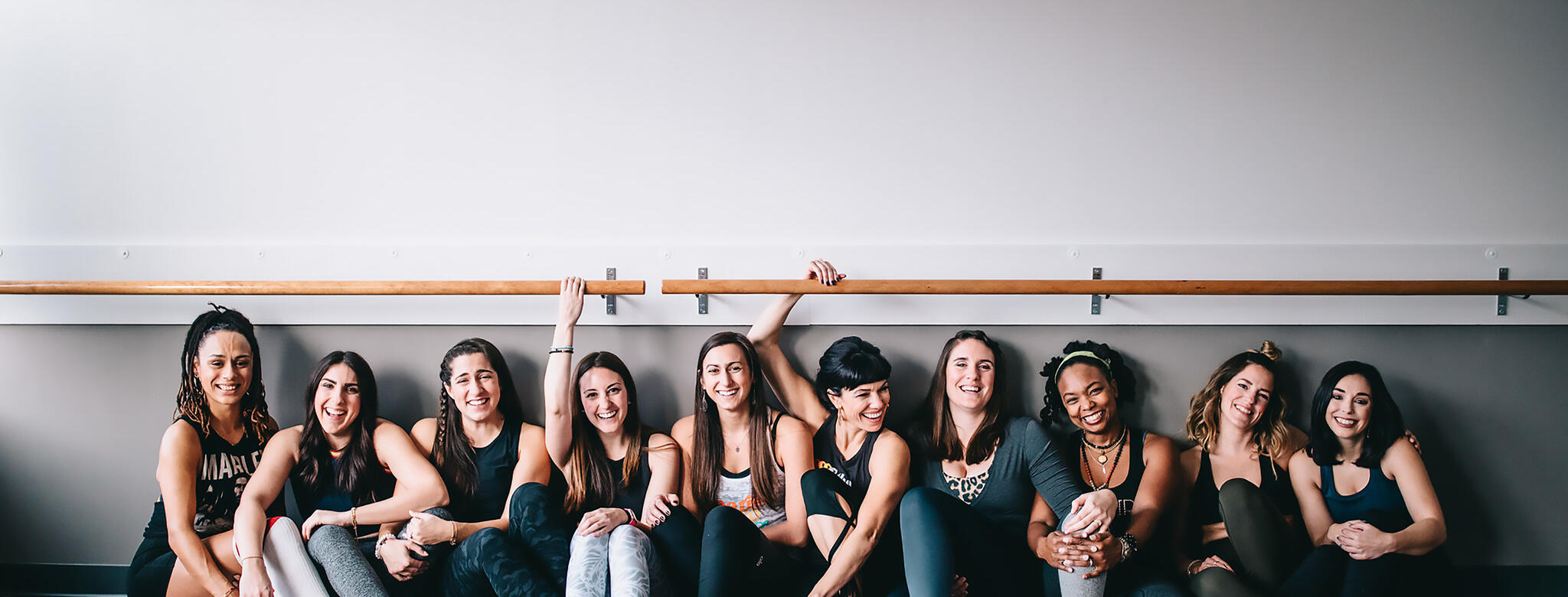 A group of women at a Barre & Soul location