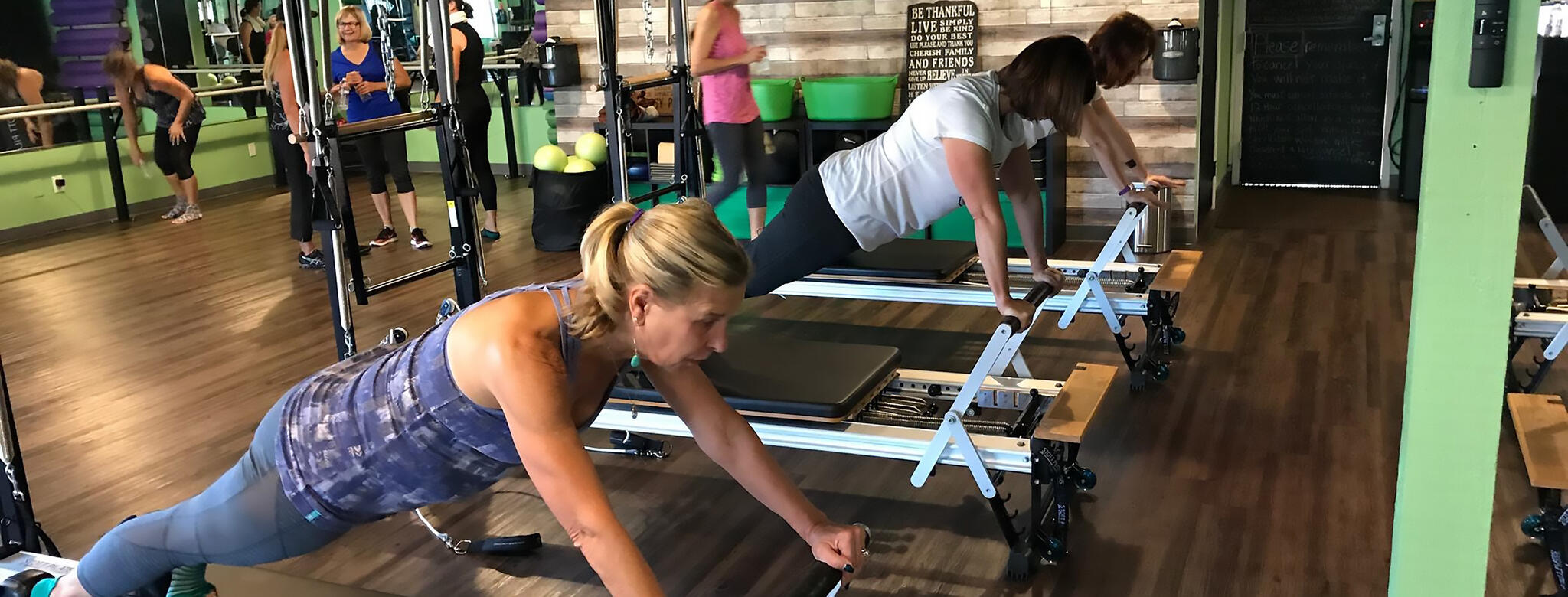 A class at Poway Pilates