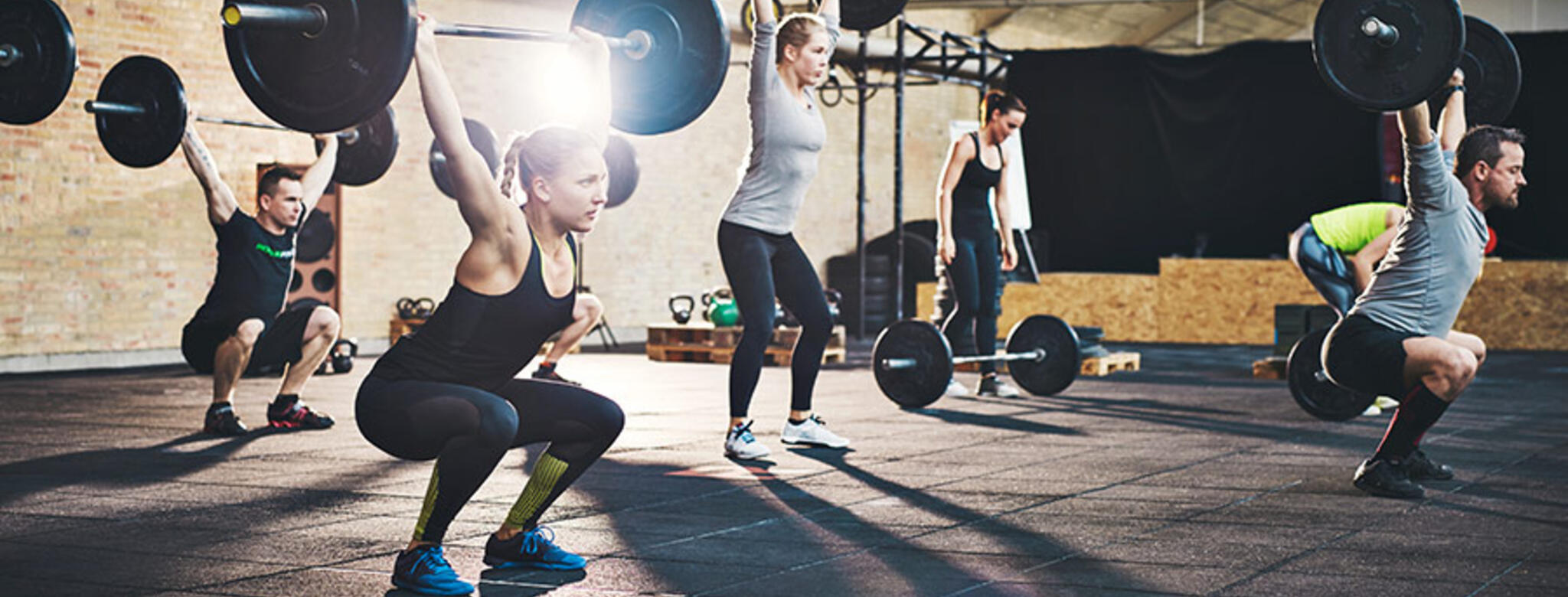 Weightlifting class booked with MINDBODY dynamic pricing